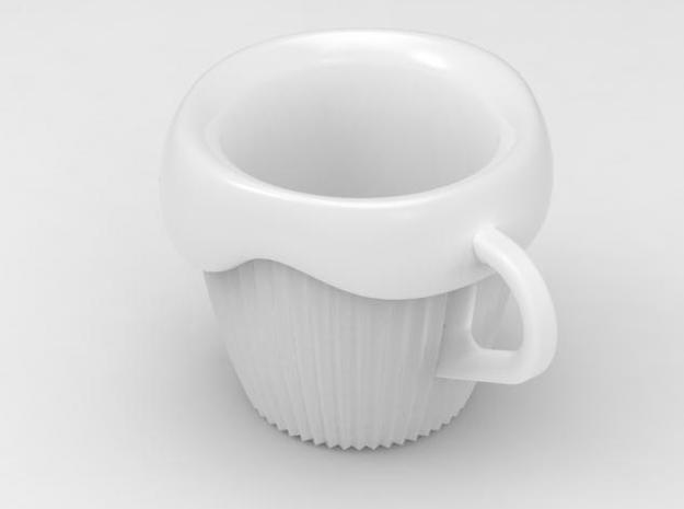 one cup a day | Day 08: CupCake Cup 3d printed view
