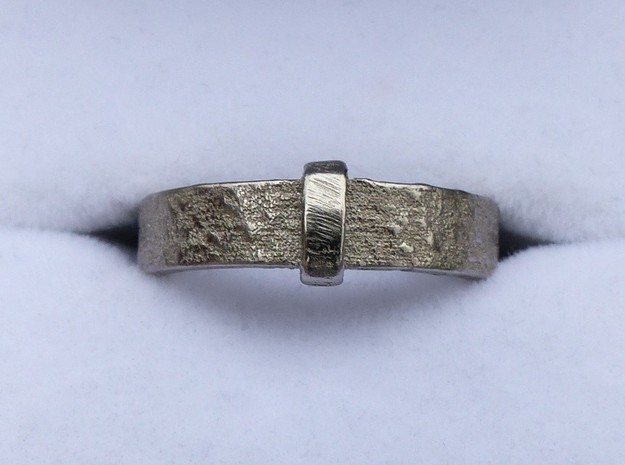 Outlander Ring - Claire's Ring in Polished Nickel Steel: 6.5 / 52.75
