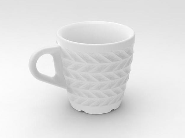 one cup a day | Day 12: ZigZag Cup 3d printed zigzag 01