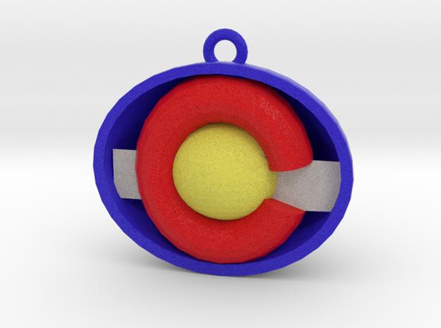 colorado Ornament in Full Color Sandstone