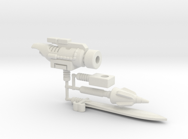 Dinobot Slug's Arsenal, 5mm (PotP)