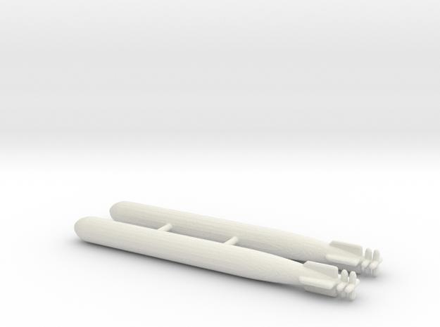 1/144 Scale Mk-14 Torpedos (2)