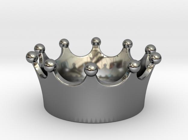 Simple crown pendant