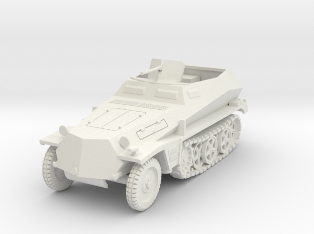 PV157E Sdkfz 250/1 SPW (1/30) in White Strong & Flexible