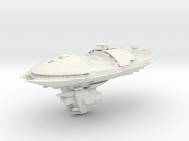 Republic Valor-class Cruiser 130mm in White Natural Versatile Plastic
