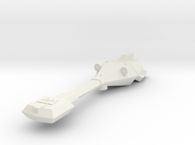 3125 Scale Trobrin Sapphire Frigate Scout (FFS) MG in White Natural Versatile Plastic