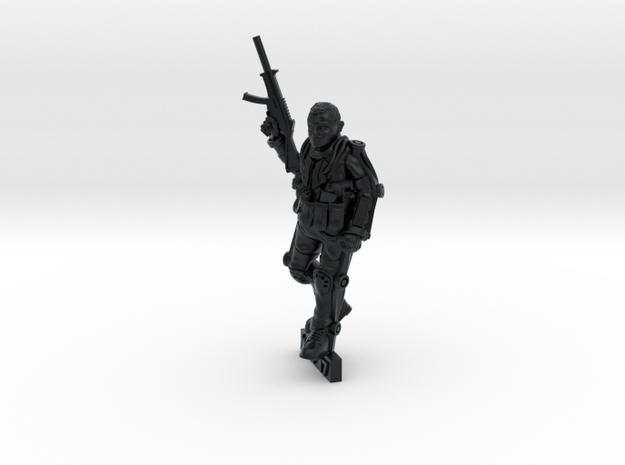 Exo-Suit Commander (28mm) in Black Hi-Def Acrylate