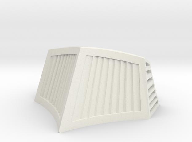 OO / HO Snowplough Type 1 Size 5 in White Natural Versatile Plastic