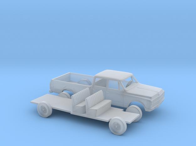 1/87 1967-69 Chevrolet C-Series Crew Cab Kit in Smooth Fine Detail Plastic