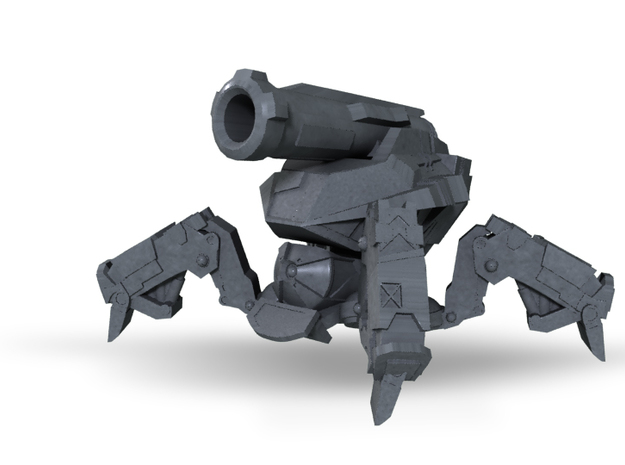 Mortar SAW Drone in Frosted Ultra Detail