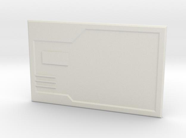 The Chipset 2 in White Premium Versatile Plastic