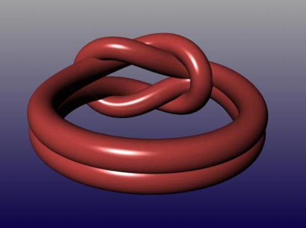 Reef Knot Ring Size 9 3d printed Description
