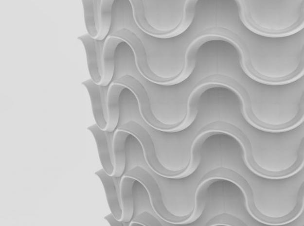 one cup a day | Day 22: Waves Cup 3d printed detail