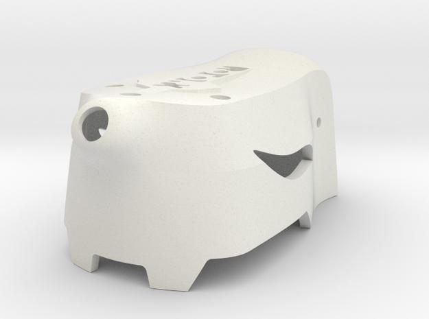 Atom Mini Canopy V5 No Buzzer WIP in White Strong & Flexible