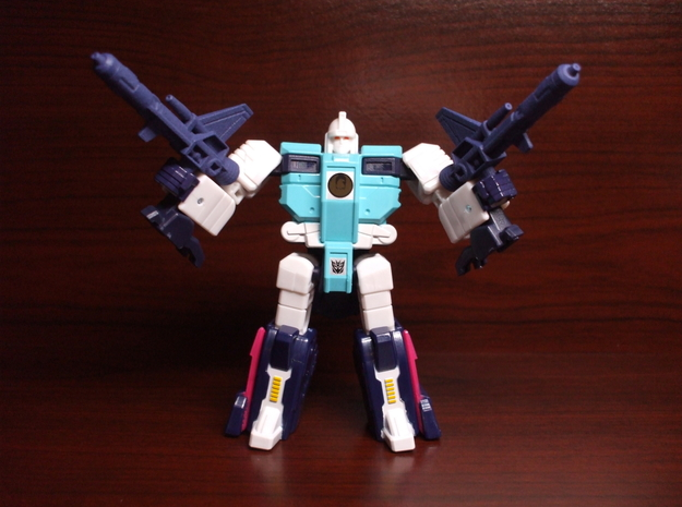 Electro-Burst Rifles for TR Wingspan in White Processed Versatile Plastic