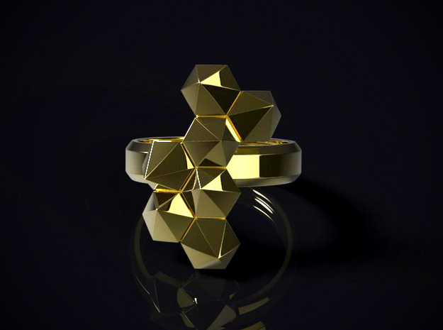Hex Cluster Ring