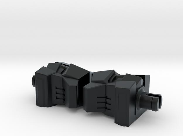 Cassettemen Heads G1 Toon in Black Hi-Def Acrylate