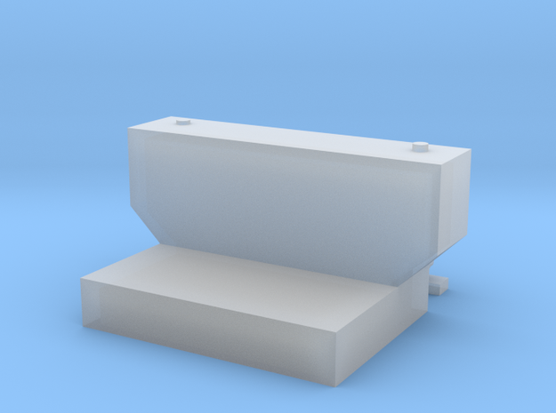 1:50 Transfer tank for DCP Chevy 1500 in Smooth Fine Detail Plastic