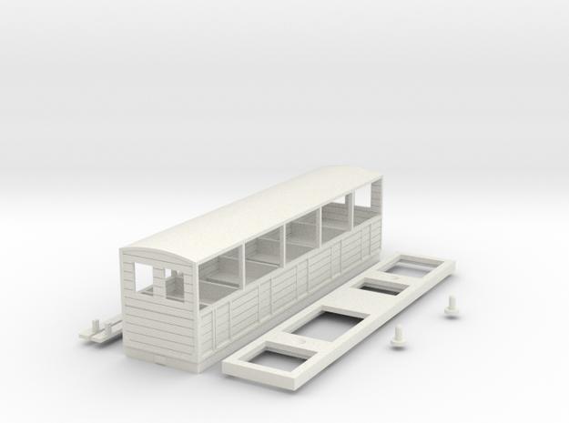 BM4-120 B&WLR Coach 5 in White Natural Versatile Plastic