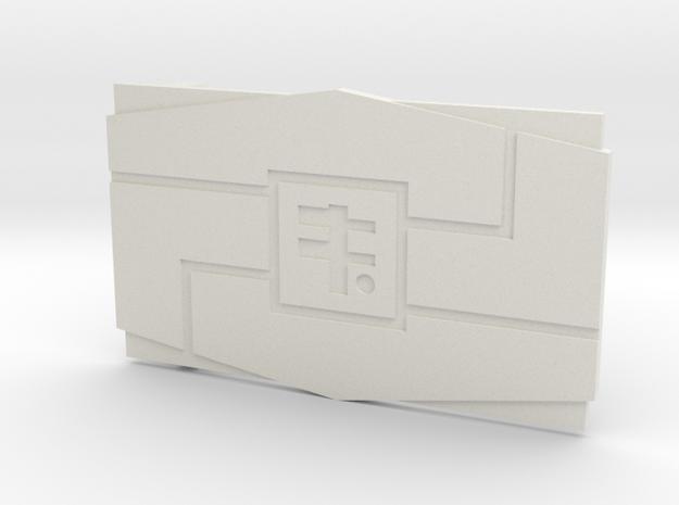 The Steadfast in White Premium Versatile Plastic