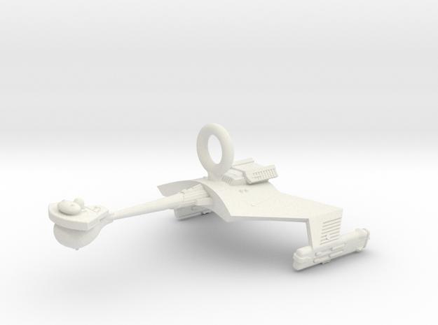 Klingon D7 Game-Room Decoration 3125 WEM in White Natural Versatile Plastic