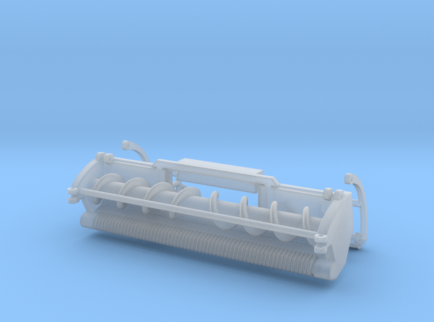 1/64 Green SPFH windrow header in Smoothest Fine Detail Plastic