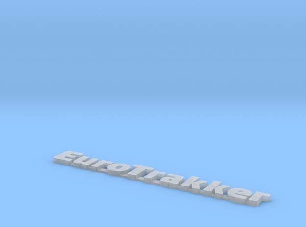 EUROTRAKKER Truck logo in Frosted Ultra Detail