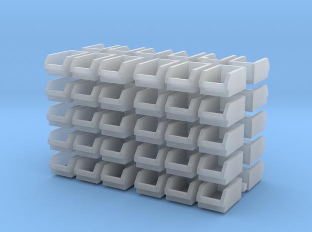 1/64 60 bolt bins in Smooth Fine Detail Plastic