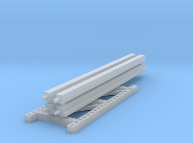 1/64 2 high 12ft PR Extension in Smooth Fine Detail Plastic