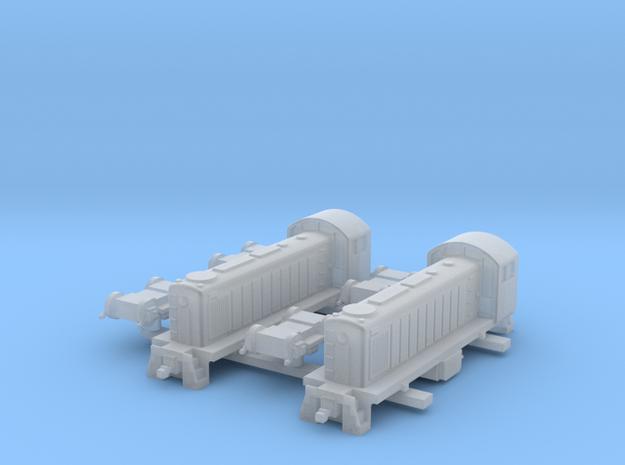 ALCO S1 US Locomotive, 1/350 in Smooth Fine Detail Plastic
