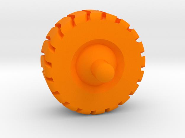 2cm spinner in Orange Processed Versatile Plastic