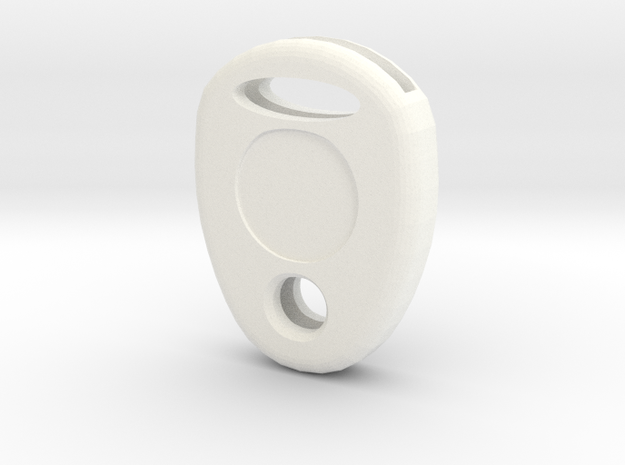 Key cap in White Processed Versatile Plastic