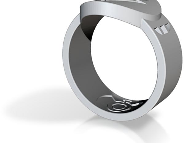 Death FF Ring Sz 15 3d printed