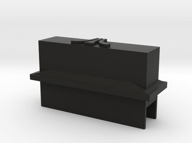 atari 2600 dust cover in Black Natural Versatile Plastic