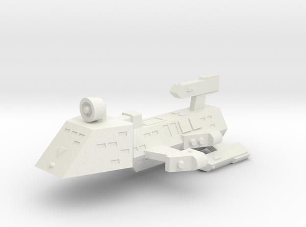 3788 Scale Kzinti Drone Frigate SRZ in White Strong & Flexible