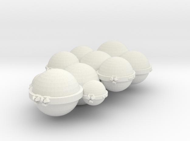 3788 Scale Koligahr Dreadnought (DN) MGL in White Natural Versatile Plastic