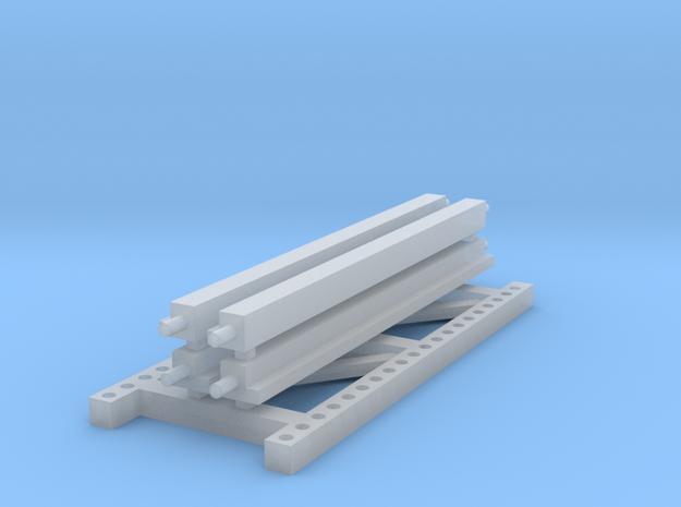 1/64 2 high 8ft PR Exstension in Smooth Fine Detail Plastic