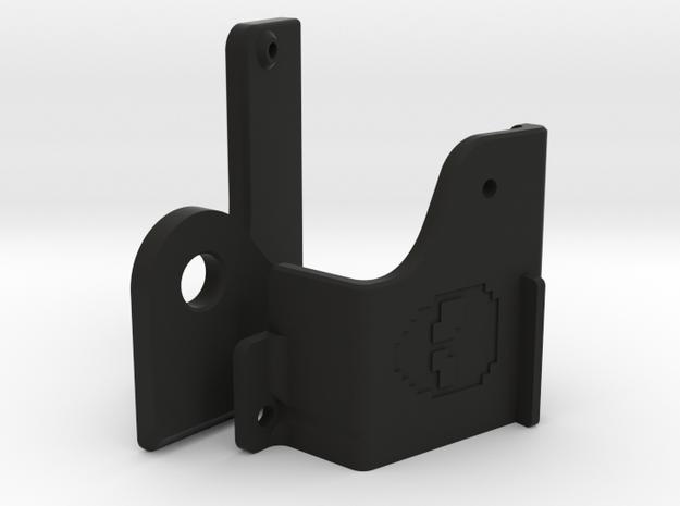Keyboard Mounts for C64C case (universal) in Black Natural Versatile Plastic