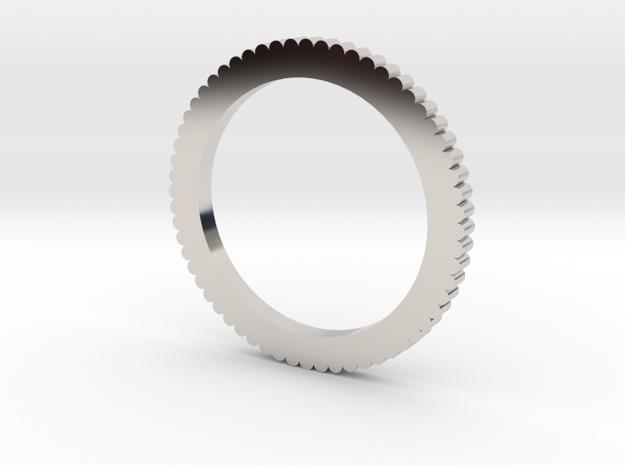 Ingranaggi - Key ring in Rhodium Plated