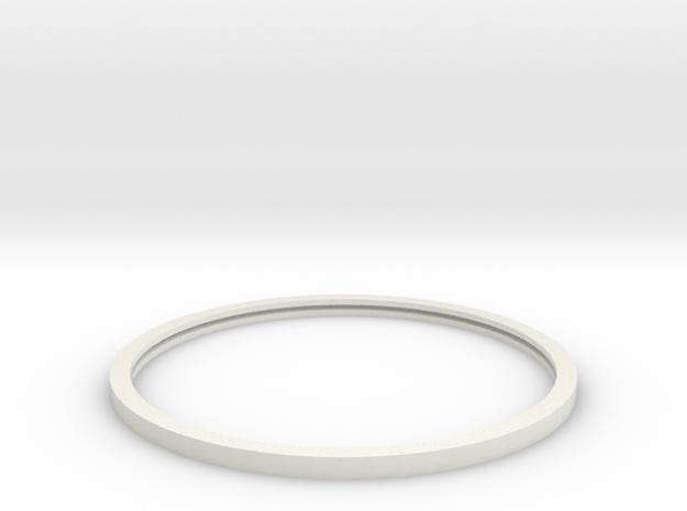 Harvestore Concrete Ring in White Natural Versatile Plastic