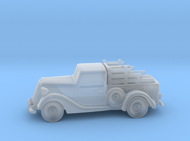Ford Pickup 1937  1:120  TT in Smooth Fine Detail Plastic
