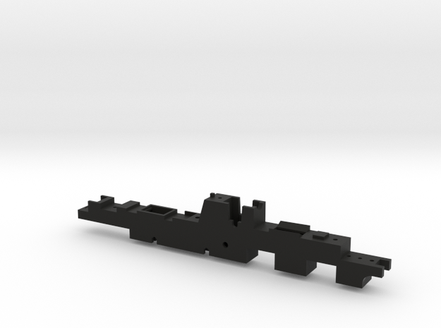 Bulleid 4-8-2 (Chassis part 1/2) in Black Natural Versatile Plastic