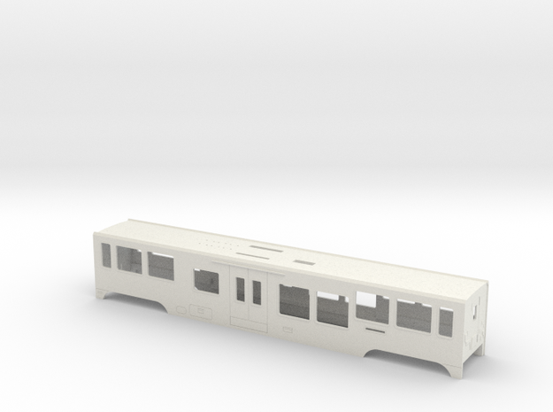 HOm MGB B4200 SFP-Body in White Natural Versatile Plastic