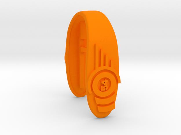54 CLUB KEY FOB  in Orange Processed Versatile Plastic
