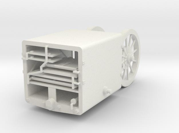 1/35th scale Uhri ammonution trailer in White Natural Versatile Plastic