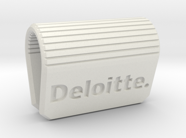 Webcam-Clip Deloitte Edition  in White Natural Versatile Plastic