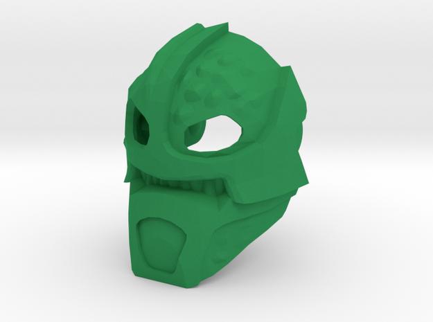 G2 adapted Kanohi Suletu in Green Processed Versatile Plastic