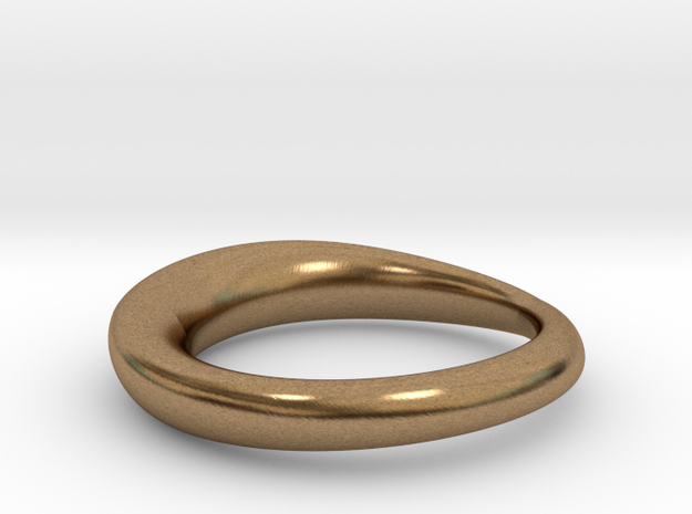 wedding ring  in Natural Brass: 8 / 56.75
