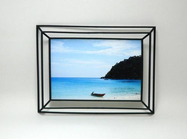 3D Photo Frame 3d printed 3D Photo Frame Black