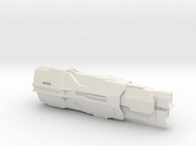 UNSC Cruiser Valiant in White Strong & Flexible